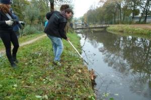 NJBB aan het werk in Sportpark Middenmeer 2