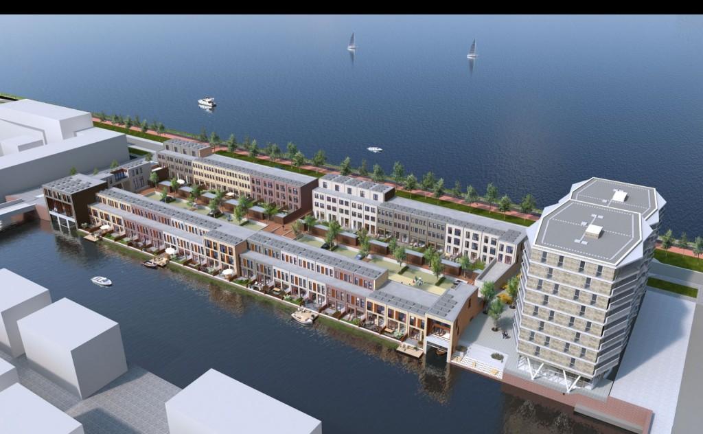 Wonen In Ijburg : Nieuwe woning aan het water te koop project het watermerk de