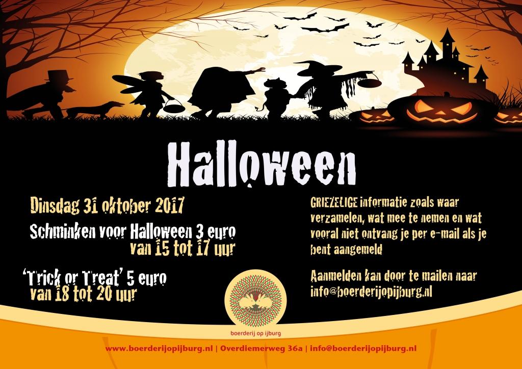 31 Oktober Halloween Amsterdam.Halloween Bij De Boerderij Op Ijburg De Brug Nieuws Uit